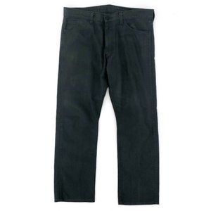 LEVI'S Men's 513 Dark Grey Slim Leg Jeans 36x30